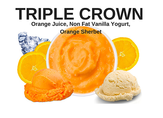 orange sherbet smoothie