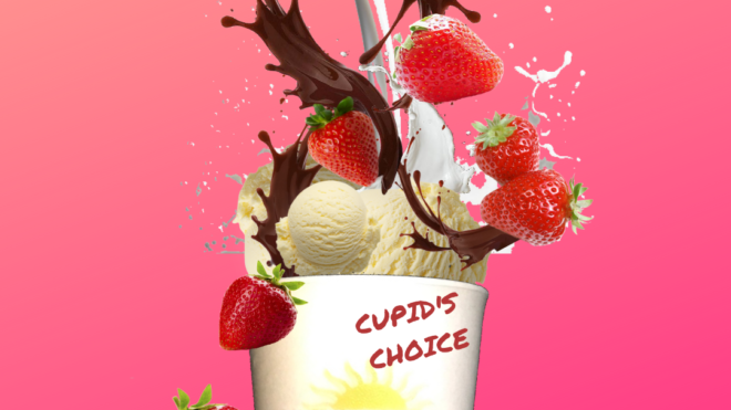 February MVP- Cupid's Choice. $5 all month long.