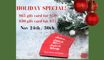Our BIG Gift Card Sale!